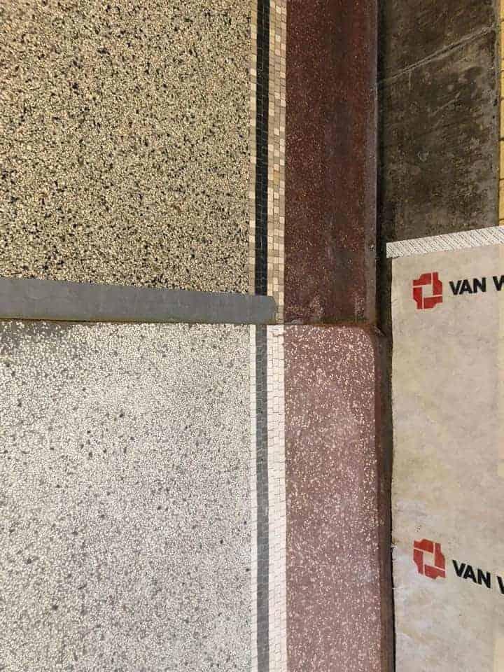 Station Deventer Terrazzo vloer portfolio 4