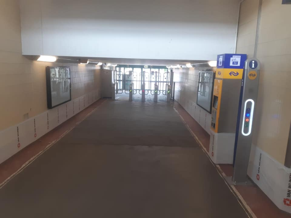 Station Deventer Terrazzo vloer portfolio 6