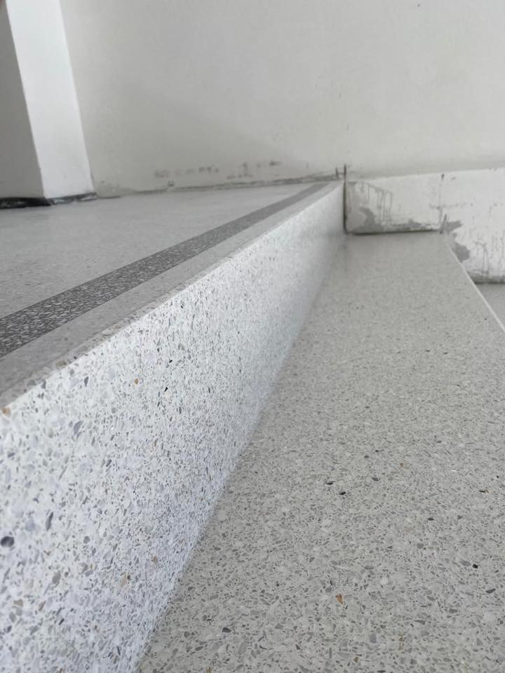 Terrazzo op de trap 3